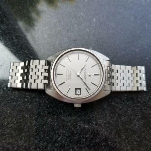 Mens Omega Constellation cal.1012 35mm Automatic w/Date c.1970s Vintage MS180