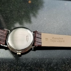 Mens Girard Perregaux 33mm Gold-Capped Hand-Wind Dress Watch c.1960s Swiss MS212