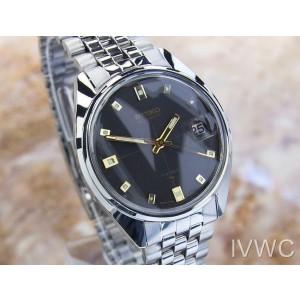 Mens Seiko Ref.7005 34mm Automatic w/Date Dress Watch, c.1970s Vintage SCX245
