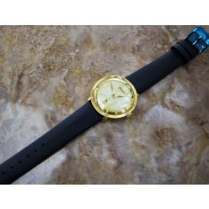 Mens Precimax 21J 36mm Gold-Plated Hand-Wind Dress Watch, c.1960s Swiss SIW033