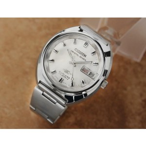 Mens Citizen Crystal 7 Cutlass 38mm Day Date Automatic, c.1970s Vintage X1052