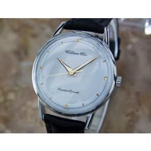 Mens Citizen Ace 36mm Hand-Wind Dress Watch, c.1960s Vintage Y52
