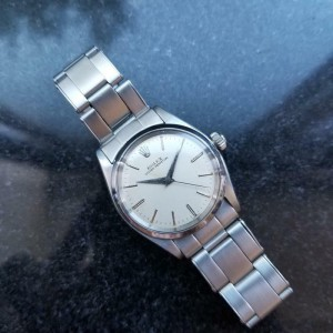 ROLEX Oyster Perpetual 6548 Stainless steel automatic 30mm Unisex 1950s LV745
