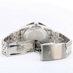 Rolex Datejust 36MM Steel Watch with 4.6CT Dome Diamond Bezel/Purple Roman Dial