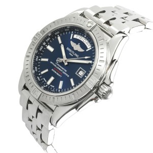 Breitling Galactic 44 USA A453201A/C976 Men's Watch in  Stainless Steel