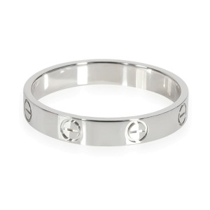 Cartier Love Wedding Band in  Platinum
