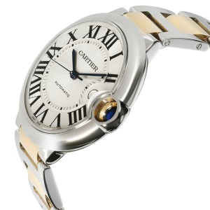 Cartier Ballon Bleu W69009Z3 Men's Watch in 18kt Stainless Steel/Yellow Gold