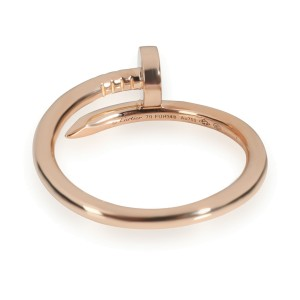 Cartier Juste un Clou Ring in 18K Pink Gold