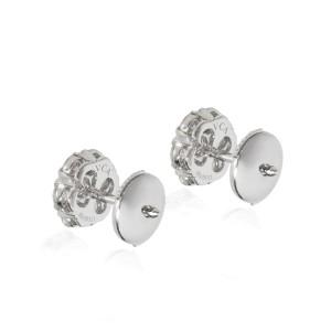 Van Cleef & Arpels Fleurette Diamond Earring in 18K White Gold 1.00 CTW