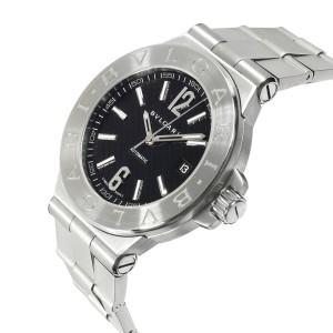 Bulgari Diagono DG 40 S Men's Watch in  Stainless Steel