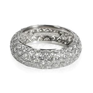 Tiffany & Co. Etoile Diamond Band in  Platinum G VS 2.90 CTW