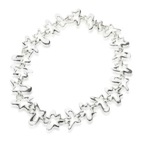 Georg Jensen Splash Necklace in  Sterling Silver
