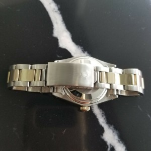 Mens Rolex Oyster Date Ref.1505 35mm 14k Gold & SS Automatic c.1970s Swiss RA105