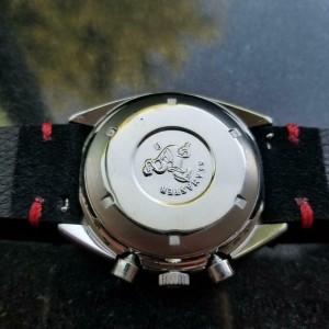Mens Omega 1980s Speedmaster Mark 4.5 Chronograph Ref.176.0012 42mm LV291BLK