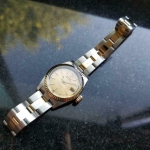 Ladies Tudor Princess Oysterdate 1980s Ref 783380 25mm Quartz Swiss Luxury LV874