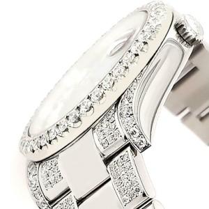Rolex Datejust II 41mm Diamond Bezel/Lugs/Bracelet/Tahitian Blue Roman Watch