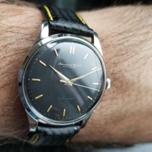 Mens IWC Schaffhausen 35mm 1960s Automatic Dress Watch Swiss Vintage R785