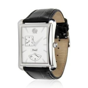 Piaget Emperador Black Tie GOA33069 Men's Watch in 18kt White Gold