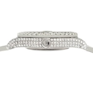 Rolex Datejust II 41mm 10.3CT Diamond Bezel/Case/Bracelet/Orchid Pink