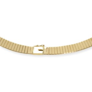 Collar Necklace in 14K Yellow Gold