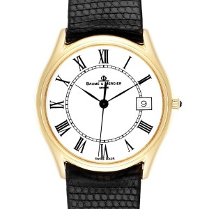 Baume Mercier Classima 14K Yellow Gold Mens Watch 95248