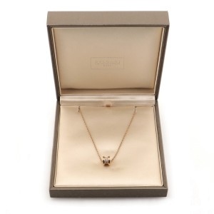 Bvlgari B.Zero1 Pendant 18K Rose Gold with Diamonds Necklace