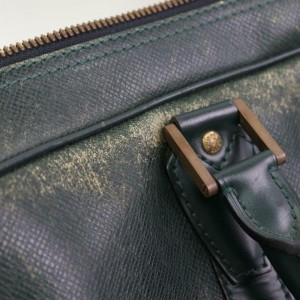 Louis Vuitton Green Taiga Kendall Duffle Bandouliere with Strap 871040
