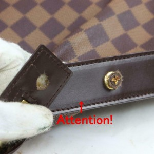 Louis Vuitton Damier Ebene Chelsea Zip Tote 871042