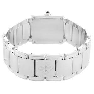Patek Philippe Twenty-4 Blue Dial Steel Diamond Ladies Watch 4910