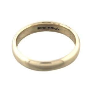 Tiffany & Co. 14K Yellow Gold Wedding Ring Size 10.5