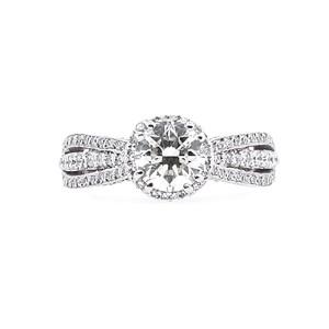 Tacori  18k White Gold Diamond Ring