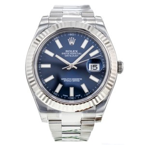 Rolex DateJust II 116334 41mm Stainless Steel/18K White Gold Watch