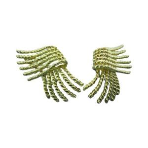 Tiffany & Co. Schlumberger 18k Gold Earrings