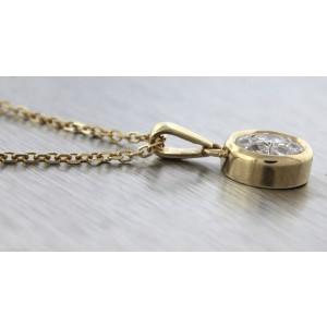 Effy Exquisite 14K Yellow Gold 0.70ct Diamond Ladies Pendant Necklace