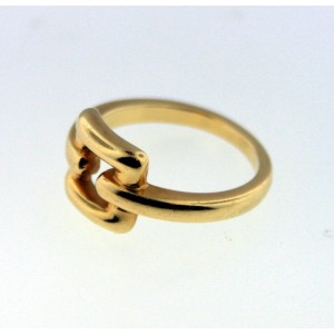 Tiffany & Co 18k Yellow Gold Buckle Ring