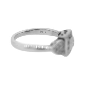Philippe Charriol 18K White Gold Diamond Ring