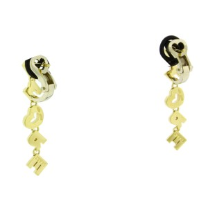 Pasquale Bruni Amore 18K Yellow Gold Diamond Dangle Earrings