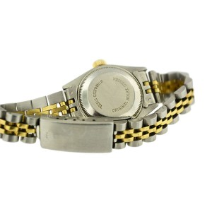 Rolex Two Tone 18KT Gold Oyster Perpetual Datejust Jubilee Bracelet Ladies Watch