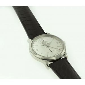 Jaeger-LeCoultre Maser Control Calendar Steel 37mm Silver Dial Watch