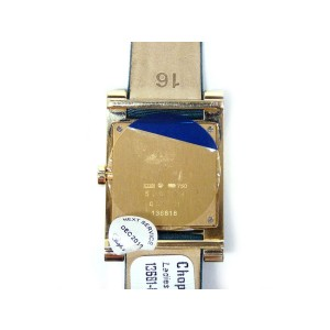 """Chopard 18k YG """"Your Hour"""" Diamonds & Mother Of Pearl Dial Ladies Watch"""