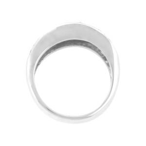 Bellarri Solid 18K White Gold Diamond Band Ring