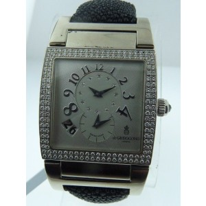 De Grisogono 18K White Gold Instrumento Watch