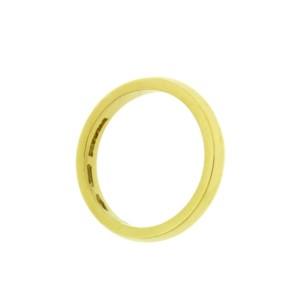 Bulgari 18K Yellow Gold Band Ring Size 7