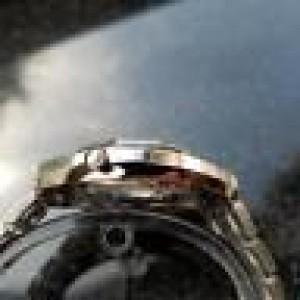 Seiko 3703-7039 Stainless Steel Quartz Vintage 37.5mm Men's Watch 1980