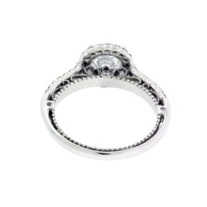 Verragio 18K White Gold Diamond Engagement Ring