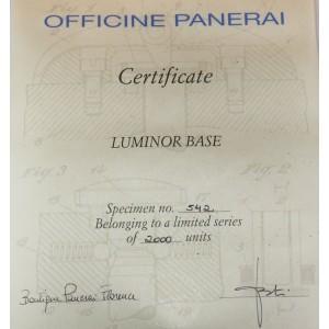 Panerai Luminor PAM00390 44mm Mens Watch