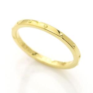 Louis Vuitton 18K Yellow Gold Mini Berg Emprise Ring Size 5.75