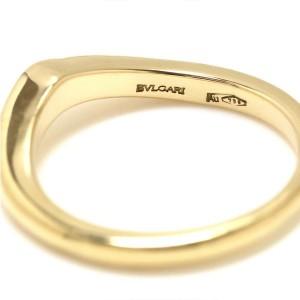 Bulgari 18K Yellow Gold Corona Ring Size 4