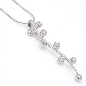 Chimento 18K White Gold with Diamond Pendant Necklace