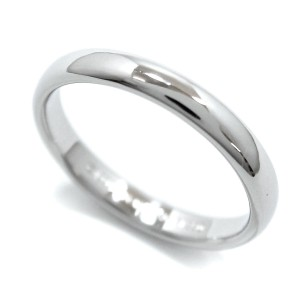 Tiffany & Co. 950 Platinum Classic Band Ring Size 7.5